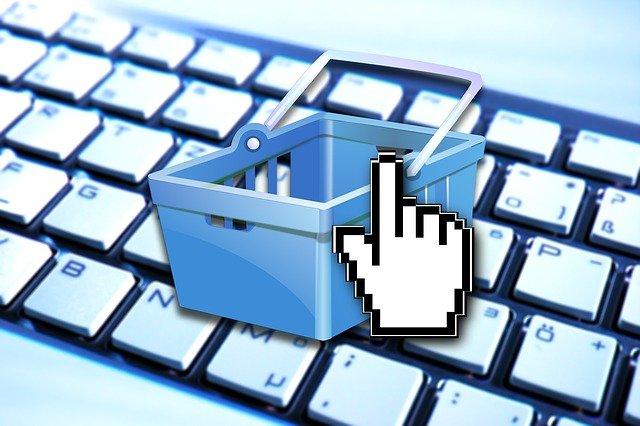 internetový nákupní košík