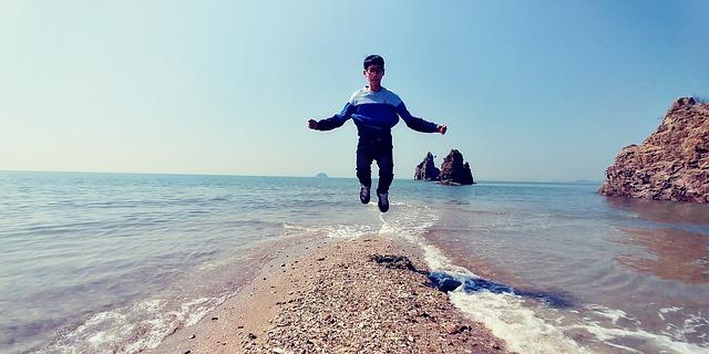 ostrůvek v moři