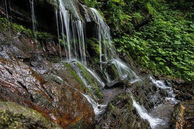 vodopád v čr