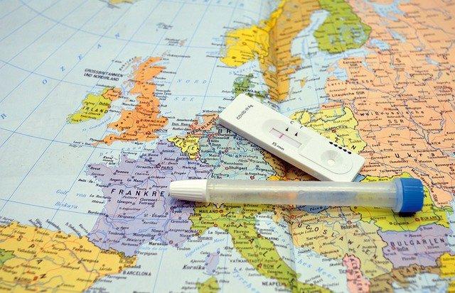 testování v Evropě